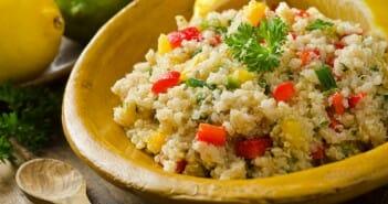 Salade quinoa fêta