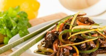 wok de boeuf aux legumes croquants
