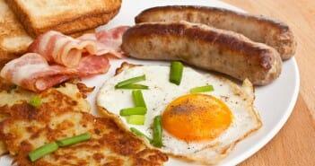 Le petit déjeuner à l'anglaise est-il calorique ?