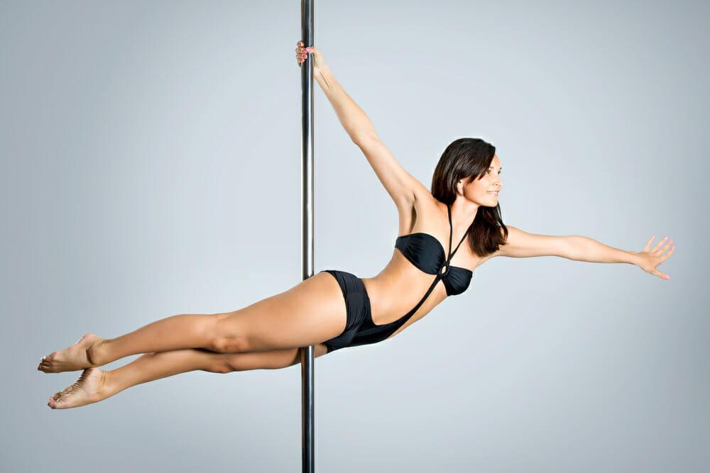 Le pole dance la barre minceur - Barre de pole dance sans fixation plafond ...