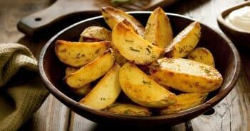Menus du régime pommes de terre