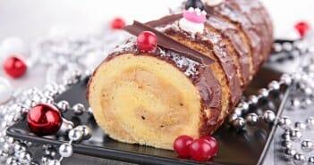 La buche de Noël : deux recettes light