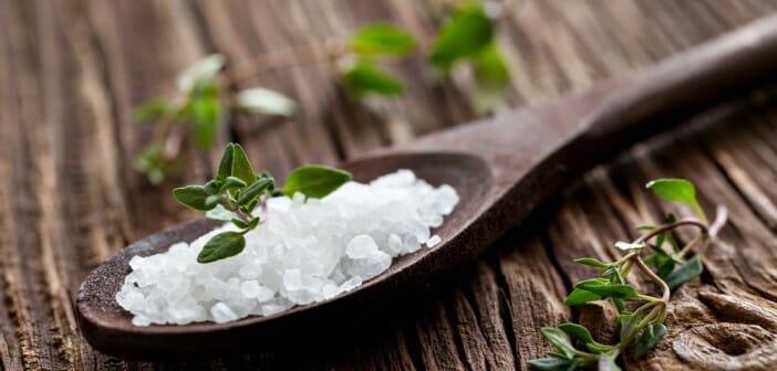 les sels minéraux et la ligne