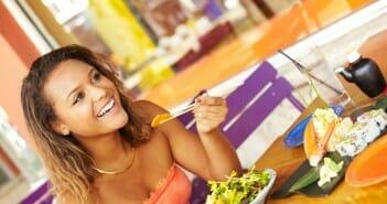 Manger au restaurant pendant Weight Watchers