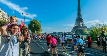 Les sportifs du marathon de paris
