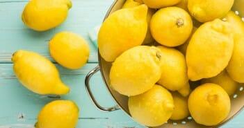 Perdre 3 kilos avec le citron