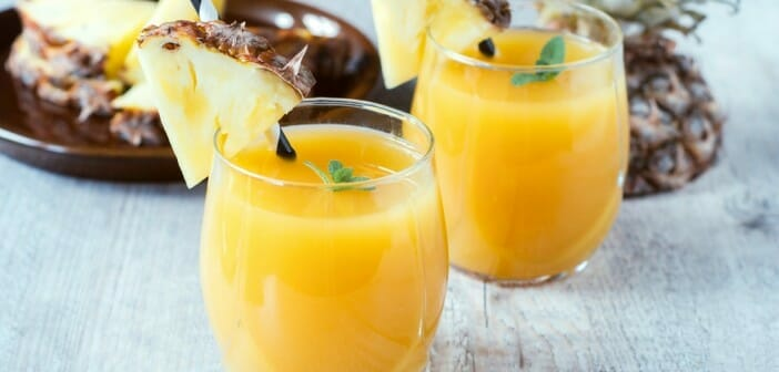 Le jus d'ananas fait-il grossir ?