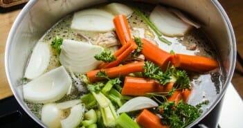 Le bouillon de légume pour maigrir