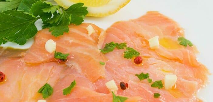 Le carpaccio de saumon fait-il grossir ?