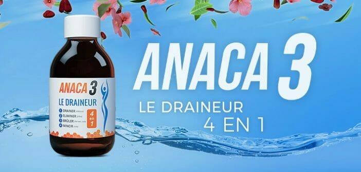 Anaca3 le draineur, à boire est il efficace? - Regimea.com