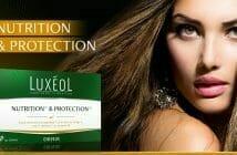 cheveux nourris et proteges avec luxéol nutrition et protection